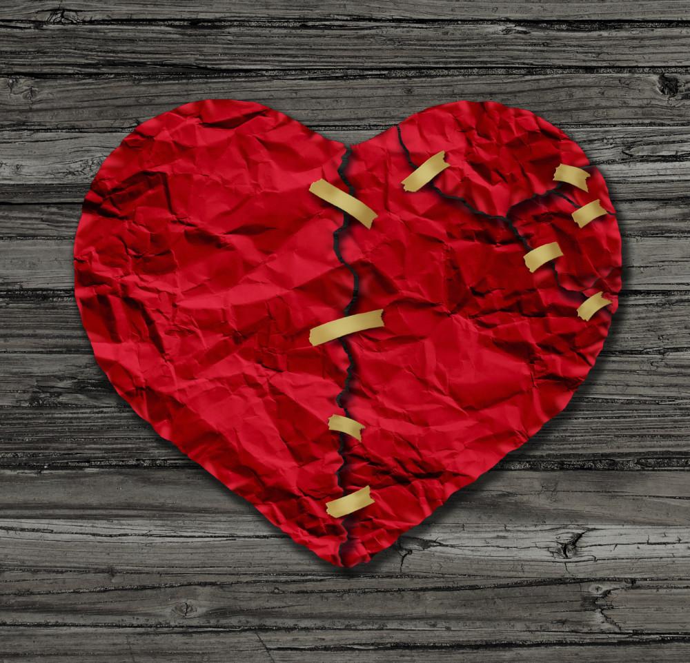 Recovery from heartbreak